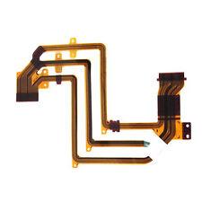 3 Pcs LCD Flex Cable Ribbon Repair Part for Sony HDR-HC5E HC7E HC9E SR10E SR220E