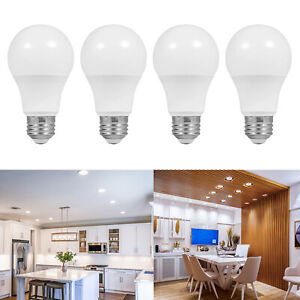 [4 Pack] LED Light Bulbs - 9.5W 800LM 5000K Daylight - Photography, Household