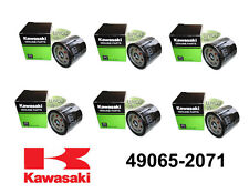 6 OEM KAWASAKI OIL FILTERS FOR FB460V, FC420V, FD620D, FD661D, FD731V, FD750D