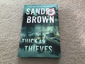 Thick As Thieves by Sandra Brown (2020, Hardcover) 1st Edition