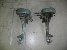 LOT OF 2 VINTAGE ELGIN OUTBOARD ENGINES FOR PARTS AND OR REPAIR