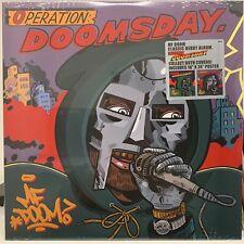 MF DOOM Operation: Doomsday ALT Cover SEALED Vinyl LP w/ Poster