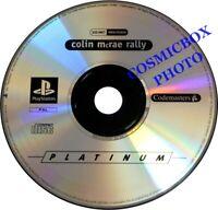 PlayStation 1 COLIN MCRAE RALLY 1 jeu de course auto SONY psx ps1 ps2 testé PAL