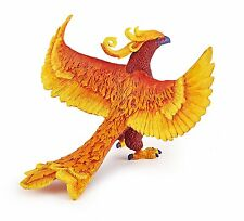 RED PHOENIX  FLAME BIRD FANTASY CREATURE BY PAPO REF 36013 - BRAND NEW WITH TAGS