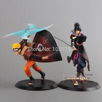2pcs MegaHouse GEM Naruto Shippuuden Uchiha Sasuke PVC Action Figure Collection