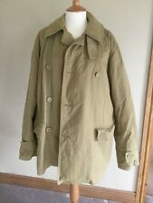 Mens Army Green Levi's Levi Strauss & co Peacoat Coat Jacket LARGE L HARRINGTON