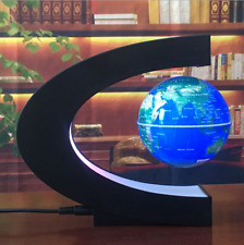 New Magnetic Levitation Globe Night Light Floating World Map Ball Lamp Lighting