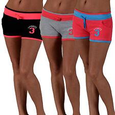 Markenlose Damen-Sportshorts mit Baumwolle