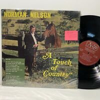 Norman Nelson- A Touch Of Country- Gospel Country LP- VG/VG+