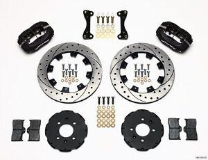 Wilwood Dynalite Front Big Brake Kit Honda Civic,CRX,Del Sol,Fit,W/Brake Lines