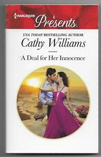 A Deal for Her Innocence by Cathy Williams (2018, Paperback)
