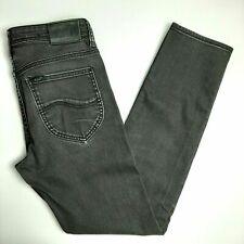 LEE Womens Jeans Size 30 - L2 Short Slim & Narrow - Black - Free Aust Post -VGC