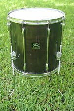 "PEARL EXPORT SERIES 16"" TRANSLUCENT BLACK FLOOR TOM for YOUR DRUM SET! LOT #N16"