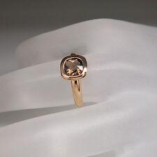 Ring mit  Rauchquarz in 750/18K Rosegold UVP. 837,-€