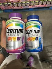 Centrum SILVER Men & Women 50+ Bundle Mutivitamin 275 ct. 2-Pack Free Shipping
