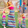 Mommy and Me Family Matching Dress Mother Daughter Floral Sundress New Kid Women