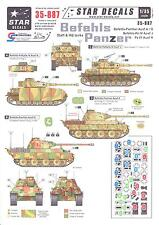 Star Decals 1/35 BEFEHLS PANTHER Staff & Headquarters Tanks Part 2