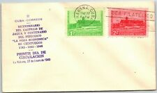 GP GOLDPATH: OTHER CARIBBEAN COUNTRY COVER 1949 FIRST DAY OF ISSUE _CV778_P03