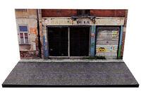 Diorama présentoir Garage de la Mairie - 1/43ème - #43-2-C-C-001