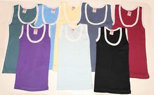 New Kids Cotton Vest Singlet Children Vests Summer Boys Tee T shirts Summer Lot