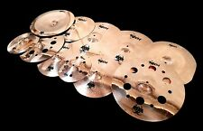 RECH B8 METAL 11pc MEGA CYMBAL SET PACK - AMAZING VALUE ZILDJIAN SABIAN PAISTE