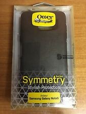 GENUINE OTTERBOX  SAMSUNG GALAXY NOTE 5 SYMMETRY SERIES TOUGH CASE COVER BLACK