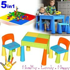 Baby Multi Use Table and 2 Chairs Set for Children 3+ Activity Play ,Water, Lego