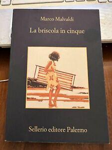 LA BRISCOLA DEI CINQUE MARCO MALVALDI  Sellerio editore Palermo 2018