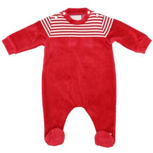 Emile Et Rose Boys Babygrow - Red (BNWT) ER1675-RE