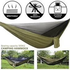 Travel Outdoor Double Person Hammock Camping Swing Hanging Bed With Mosquito Net