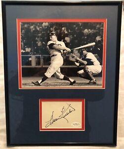 Harmon Killebrew Signed Autographed Minnesota Twins Framed Cut 11x14 Jsa