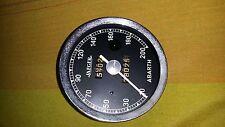 contachilometri Jaeger Fiat Abarth 1000 TCR zagato tipo corsa 200 km/h 100 mm
