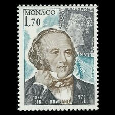 Monaco 1979 - 100th Anniversary of the Death of Sir Rowland Hill - Sc 1193 MNH
