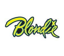 Debbie Harry ¨Blondie¨ Logo Enamel Lapel Pin - New
