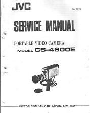 JVC Original Service Manual für GS-4600 E