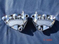 Harley Chrome Front Dual Calipers Dyna 00-05 Dyna Low Rider FXDL Exchange Only
