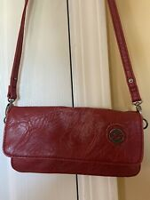 Red Billabong Crossbody Purse