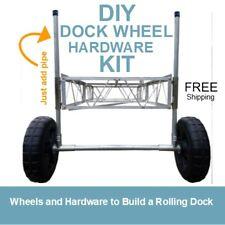 DIY Boat Dock Wheel Hardware Kit | FREE SHIPPING