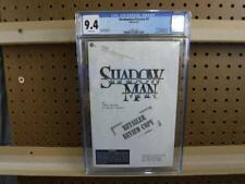 CGC 9.4 3/97 March 1997 Rare Valiant Shadowman Preview 5 Retailer Review Copy