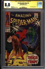 * Amazing SPIDERMAN #54 CGC 8.0 Signed Romita Doc Ock! (1961008016) *