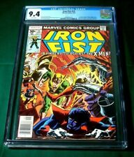 Iron Fist #15 Sept 1977 CGC NM 9.4 WHTE Marvel X-Men App Last Issue