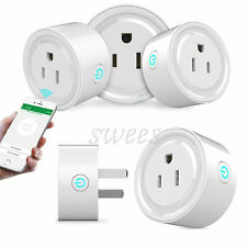 Smart US Plug WiFi Outlet Works With Alexa Remote Control Socket Cell phone app