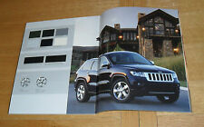 Jeep Grand Cherokee Gamme brochure 2011 - 3.0 CRD LIMITED & Overland