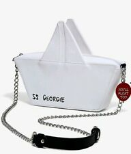 IT Pennywise You'll Float Too SS Georgie Paper Boat Crossbody Bag Purse NEW