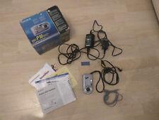 Sony Cyber-shot DSC-P10 DSCP10 5MP Digital Camera - Extra Memory Stick - Boxed