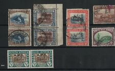 South West Africa - selection used (1 pair mint)