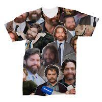 Zach Galifianakis Photo Collage T-Shirt