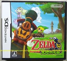 Nintendo DS LEGEND OF ZELDA Daichi no Kiteki New official With tracking number