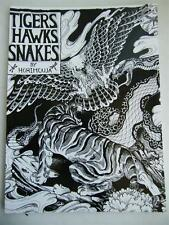 "Tigers Hawks Snakes Horimouja Jack Mosher Japanese style tattoo Flash Book 11"""