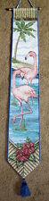 Flamingo Bay Tapestry Wall Hanging Bellpull
